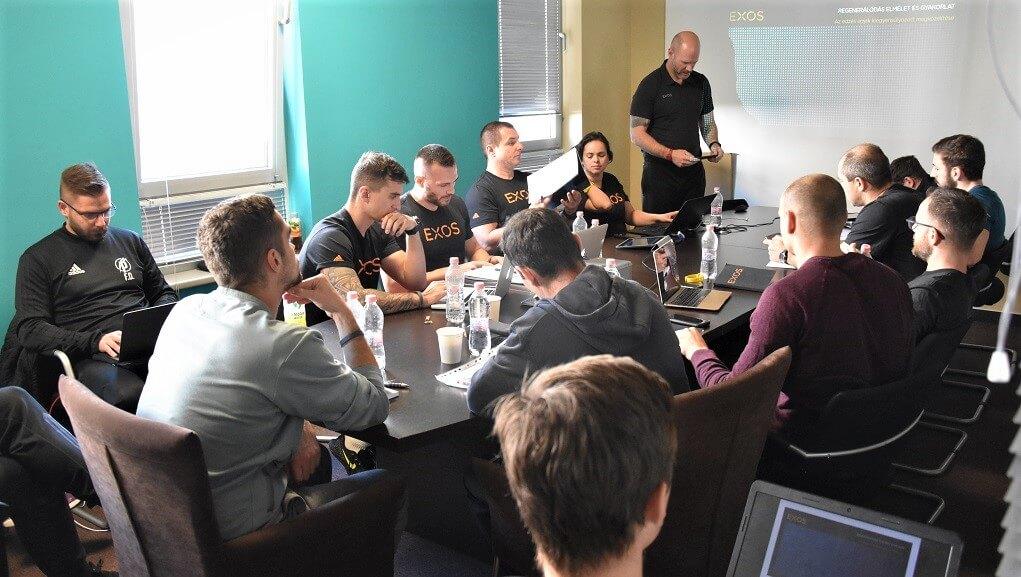 EXOS elméleti képzés, Budapest 2018