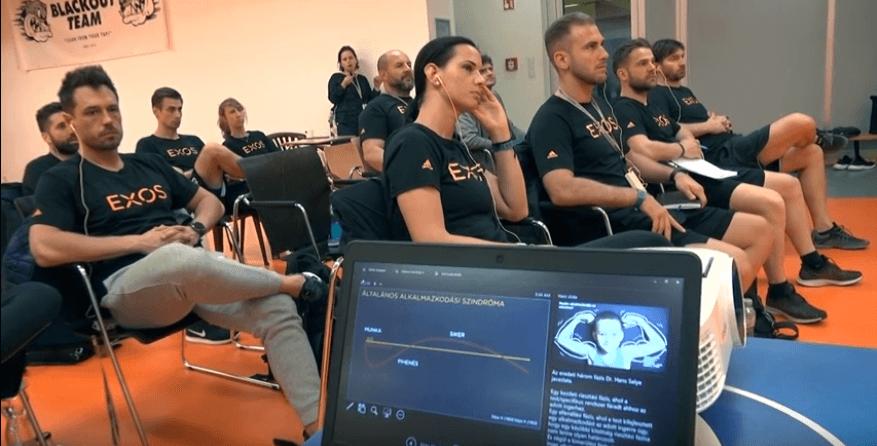 Hallgatóság az EXOS Budapest 2019 előadáson