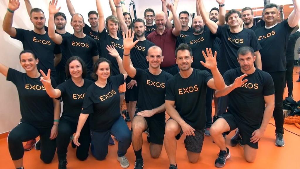 EXOS Budapest 2019 végzős csapat