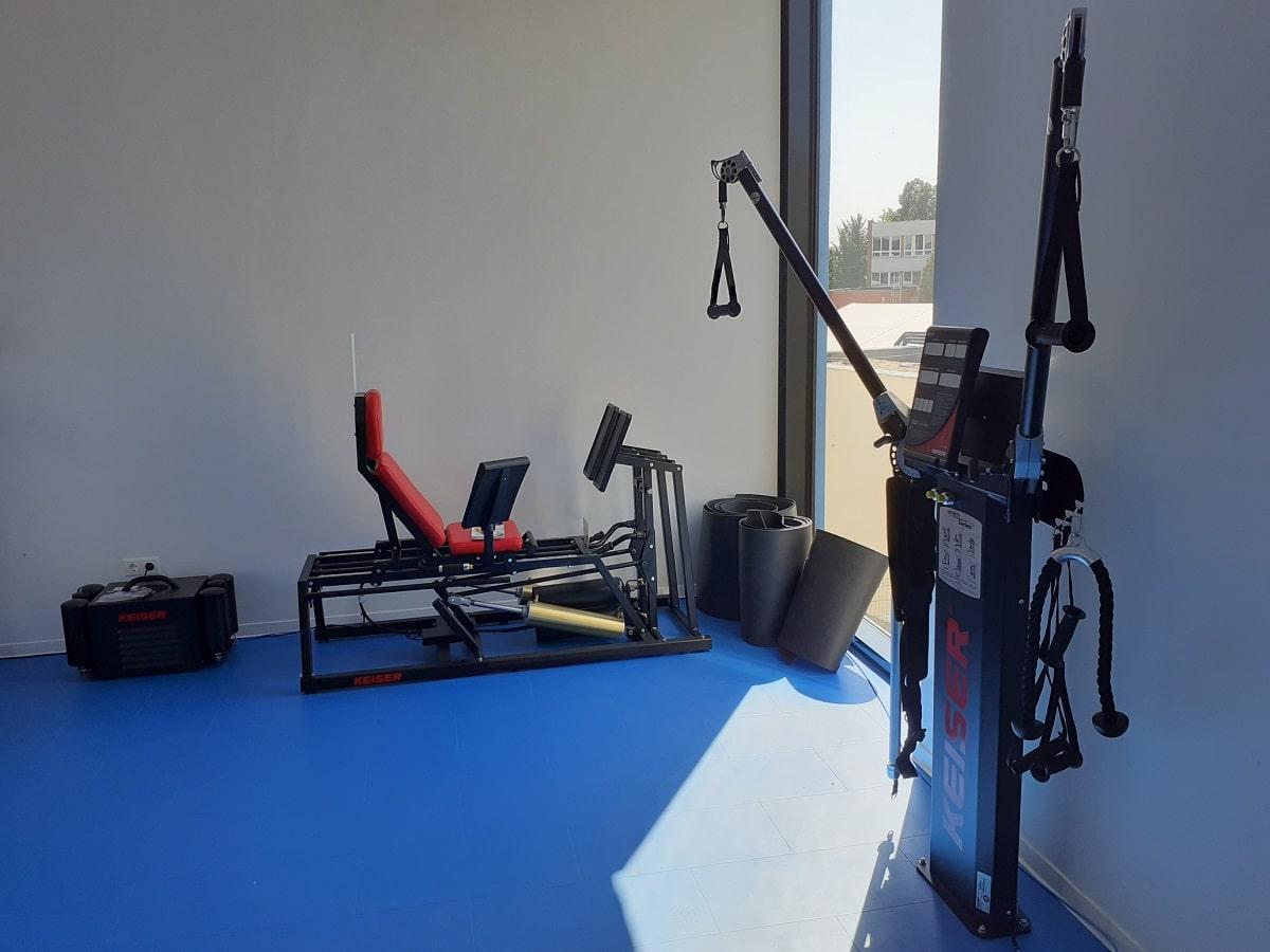 Keiser Functional Trainer és Slat Belt Békéscsabán