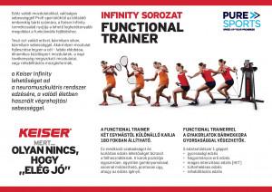 Keiser Functional Trainer funkcionális edzőgép